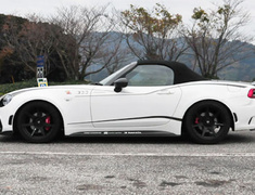 ABARTH 124 Spider - NF2EK - Material: Dry Carbon - Colour: Clear Coat - THAB7008