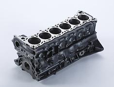 Skyline GT-R - BCNR33 - Cylinder Block - OEM Part Number: 11000-05U00 - 11000-RHR20