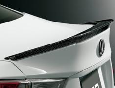 RC300h F-Sport - AVC10 - Rear Spoiler - Construction: Carbon - Colour: Clear Paint Finish - MS342-24001