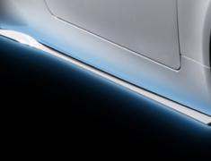 RC300h F-Sport - AVC10 - Side Skirts - Colour: Black (212) C0 - Colour: White Nova Glass Flake (083) A1 - MS344-24001-##