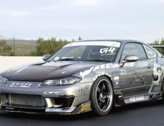 Silvia - S15 - Front Fender Set - Material: FRP - Width: +20mm - S15-FF