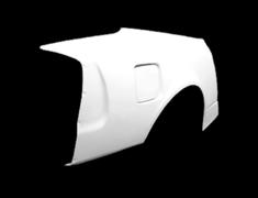 Silvia - S15 - Rear Fender Set - Material: FRP - Width: +30mm - Width: +50mm - S15-RF