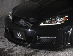 IS 250C - GSE20 - FRONT BUMPER (LED daylight · net included · 3D duct mesh attached) - Construction: FRP - Colour: Unpainted - AIMPVIPS-IS2350C-FB