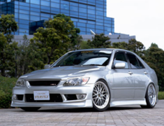 Altezza AS200 - GXE10 - 3 Point Kit (Normal front bumper) - Construction: FRP - Colour: Unpainted - VERTEX-GSXE10-3PN
