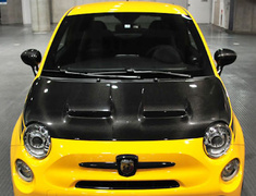 ABARTH 500 - 312141 - Material: Carbon (clear coat) - THAB1031