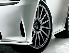 """RC300h F-Sport - AVC10 - Front Wheel - Colour: Gunmetalic - Size: 19"""" - Width: 8.5J - Offset: +45 - Weight: 11.7 kg - MS213-00064"""
