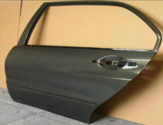 Lancer Evolution IX - CT9A - Material: Carbon - Type: Rear Set (with window openings) - CD-CT9A-R