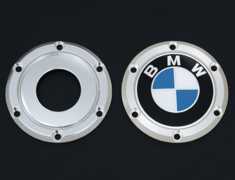 BMW - Applicable wheels: AVS MODEL T5 / KREUTZER SERIES Xi - 1 ring + bolt, 1 wrench set - Diameter: 58mm - Quantity: 1 - Z8853