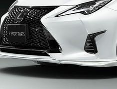 RC300 F-Sport - ASC10 - Front Spoiler - Construction: Resin (PPE) - Colour: Black (212) = C0 - Colour: Graphite Black Glass Flake (223) =C2 - Colour: White Nova Glass Flake (083) = A1 - MS341-24004-##