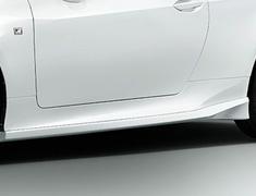 RC300 F-Sport - ASC10 - Side Skirts - Construction: Resin (PPE) - Colour: Black (212) = C0 - Colour: Graphite Black Glass Flake (223) =C2 - Colour: White Nova Glass Flake (083) = A1 - MS344-24004-##
