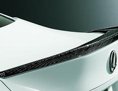 RC300 F-Sport - ASC10 - Carbon Rear Spoiler - Construction: Carbon - Colour: Clear Coat Finish - MS342-24001