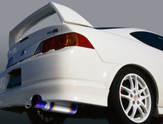 Integra Type R - DC5 - Pieces: 1 - Pipe Size: 60mm - Tail Size: 100mm - Weight: 4.8kg - Body Type: A - Body Type: Polished - Tail Type: A - Tail Type: B - Tail Type: Polished - R1Ti-DC5