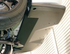 Lancer Evolution IX - CT9A - Rear Under Tray - Construction: Surface Carbon - ER-1