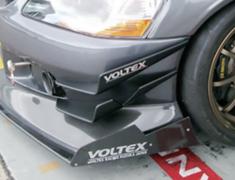Lancer Evolution IX - CT9A - End Plate (for Circuit) - Construction: Carbon - EBCS-3