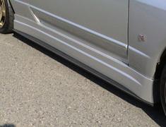 Skyline GT-R - BNR32 - Side Steps/Diffuser Set - Construction: FRP/Carbon - Colour: Unpainted - BEER-OAPRBNR32-SSD