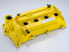 Spoon - Civic FK7 Yellow Engine Cover