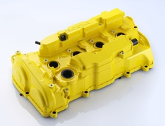 Spoon - Civic FK8 Yellow Engine Cover