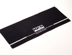 Universal - HKS JAPANESE TOWEL - Colour: Black - Material: 100% Cotton - Size: 35cm x 90cm - 51007-AK204
