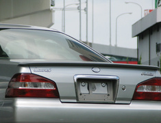 Laurel - C35 - Trunk Spoiler - Construction: FRP - Colour: Unpainted - URAS-MEDC35-TS
