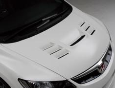 Civic Type R - FD2 - Aero Bonnet - Construction: FRP - Colour: Unpainted - NSPECFD2-ABFRP