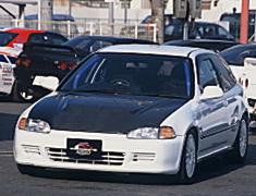Civic - EG6 - Aero Bonnet - Material: Carbon/FRP - FM-EG6AP-ABCF
