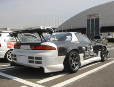 GTO - Z15A - Rear Fenders - Material: Carbon - Width: +60mm each side - PRM-GTO-CARRF
