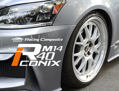 Project Kics - Racing Composite R40 iCONIX M14 - Replacement Parts
