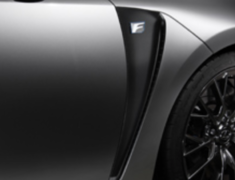 GS F - URL10 - Carbon sheet for Front Fender - 08231-TUL10-02