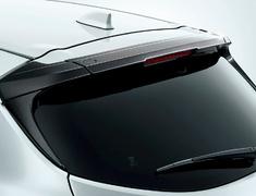Corolla Sport - NRE210H - Rear Roof Spoiler - Construction: PPE Resin - Colour: Gunmetallic (21BK06) - MS342-12004