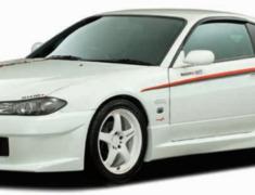 Silvia - S15 - Front Bumper Spoiler - Construction: FRP - Colour: Unpainted - 62020-RSS55