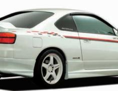 Silvia - S15 - Rear Bumper Spoiler - Construction: FRP - Colour: Unpainted - 85050-RSS55