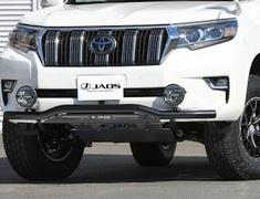 Land Cruiser - GDJ150W - Material: Stainless Steel - Color: Bar: Black, Plate: Black - B150067D