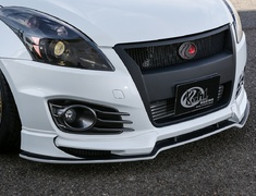 Swift Sport - ZC32S - Front Lip Spoiler - Material: High Grade FRP - Colour: Painted (Color Code Required) - KUHL-32R-SS-FLS-HGP