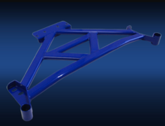 Chaser - JZX90 - Double Triangle Brace - Position: Front - JZX90-FR