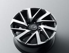 "Land Cruiser - GDJ150W - Set of 4 - Colour: black metallic × polish - Size: 17"" - Width: 8.0J - D2426-56230"