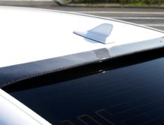 LS 460 L - USF41 - Carbon Rear Roof Spoiler - Construction: Carbon - Colour: Unpainted - AS-VHSL-LS-CRRS