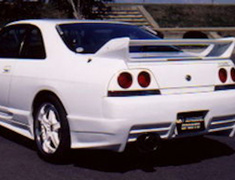 Skyline - R33 GTS-t - ECR33 - Rear Bumper - Construction: FRP - Colour: Unpainted - USRS-R33-RB