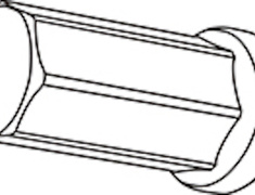 - Replacement Closed End Type Nut - Colour: Black - Thread: M12xP1.5 - Length: 50mm - Quantity: 1 - Z711250