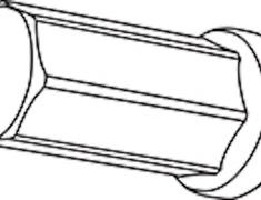 - Replacement Closed End Type Nut - Colour: Black - Thread: M12xP1.25 - Length: 50mm - Quantity: 1 - Z713250