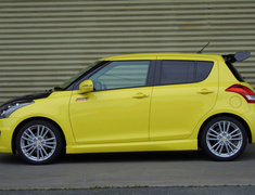 Swift Sport - ZC32S - Front Rate: 28.5 N/mm - Front Height: -25 to -30mm - Rear Rate: 34.5 N/mm - Rear Height: -20 to -25mm - 520500-4850M