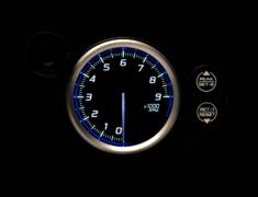 - Type: Tachometer - Color: Blue - Diameter: 80mm - Range: 0 to 9000RPM - DF17201