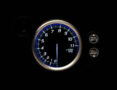 - Type: Tachometer - Color: Blue - Diameter: 80mm - Range: 0 to 11000 RPM - DF17301