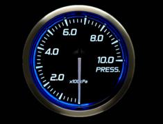 - Type: Pressure - Color: Blue - Diameter: 52mm - Range: 0 to 1000kPa - DF16201