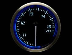 - Type: Voltage - Color: Blue - Diameter: 52mm - Range: 10 to 15V - DF16501