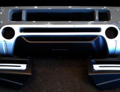Jimny Sierra - JB74W - Front Bumper Spoiler - Construction: FRP - Colour: Unpainted - KS-JB74W-FBS