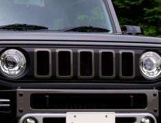 Jimny - JB64W - Front Grill - Construction: FRP - Colour: Unpainted - KS-JB74W-FG