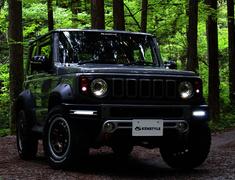 Jimny Sierra - JB74W - Front Grill LED - Construction: LED - KS-JB74W-FGL