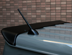 Jimny - JB64W - Rear Roof Spoiler - Construction: FRP - Colour: Unpainted - KS-JB74W-RRS