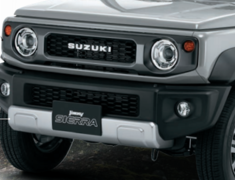 Jimny Sierra - JB74W - Front Grill with Logo - Category: Exterior - 9911C-78R10-ZSC