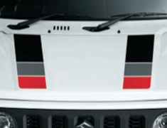 Jimny Sierra - JB74W - Hood Decals - Category: Exterior - 99230-77R20-003